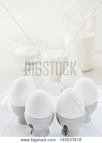 Still Life Air White Proteinaceous Breakfast