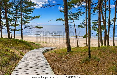 Jurmala is a famous international Baltic resort in Latvia, Europe