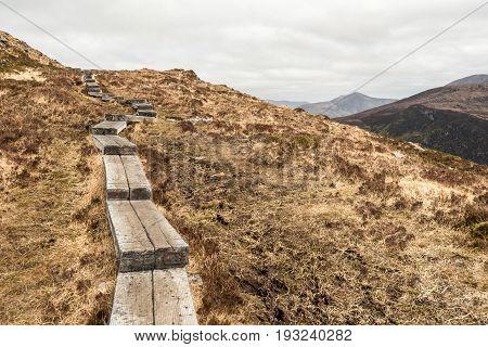 Boardwalk On Torc Mountain