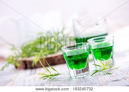 Estragon Drink Shot