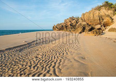 Cape Wirrwawuy beach at Nhulunbuy town of Northern Territory, Arnhem land of Australia.