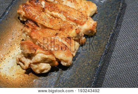 Japanese Style Chicken Steak