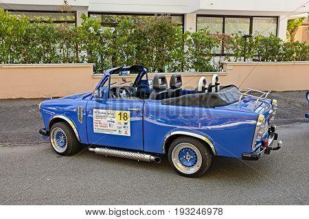 CESENATICO, FC, ITALY: Tuning Trabant 601 in