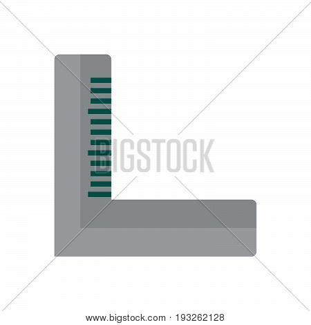 Precision square flat icon filled vector sign colorful pictogram isolated on white. Symbol logo illustration. Flat style design