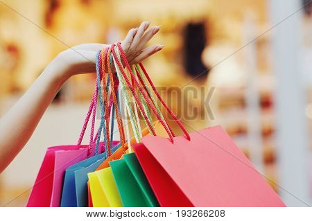 Shopping Concept With Beautiful Girl