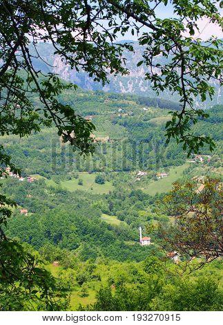 Durmitor National Park in Montenegro, Europe