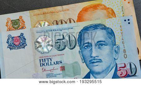 Singapore Banknote Dollar (sgd)