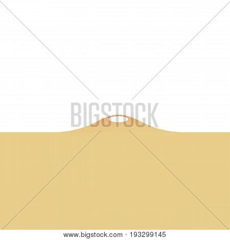 Ance isolated on white background. vector illustration