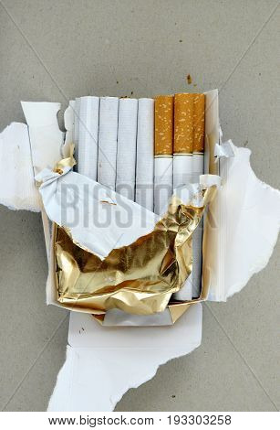 Cigarettes , Close Up