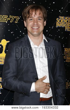 LOS ANGELES - JUN 28:  T R Knight at the 43rd Annual Saturn Awards - Press Room at the The Castawa on June 28, 2017 in Burbank, CA