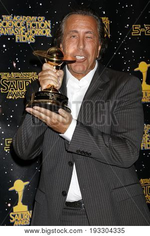 LOS ANGELES - JUN 28:  Jon Goldwater at the 43rd Annual Saturn Awards - Press Room at the The Castawa on June 28, 2017 in Burbank, CA