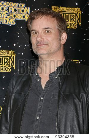 LOS ANGELES - JUN 28:  Shane Black at the 43rd Annual Saturn Awards - Press Room at the The Castawa on June 28, 2017 in Burbank, CA