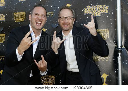 LOS ANGELES - JUN 28:  Jeff Krelitz, Brian Witten at the 43rd Annual Saturn Awards - Arrivals at the The Castawa on June 28, 2017 in Burbank, CA