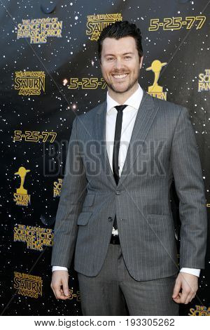 LOS ANGELES - JUN 28:  Dan Feuerriegel at the 43rd Annual Saturn Awards - Arrivals at the The Castawa on June 28, 2017 in Burbank, CA