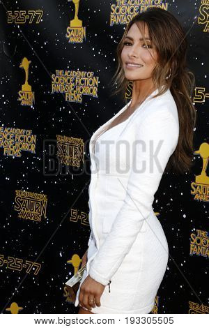LOS ANGELES - JUN 28:  Sarah Shahi at the 43rd Annual Saturn Awards - Arrivals at the The Castawa on June 28, 2017 in Burbank, CA