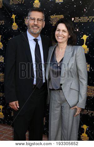 LOS ANGELES - JUN 28:  Rick Jaffa, Amanda Silver at the 43rd Annual Saturn Awards - Arrivals at the The Castawa on June 28, 2017 in Burbank, CA
