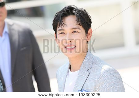 Actor Yim Si-wan attends the 'The Merciless' photocall during the 70th annual Cannes Film Festival at Palais des Festivals on May 25, 2017 in Cannes, France.