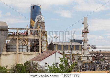 Industrial Building Factory With Structure