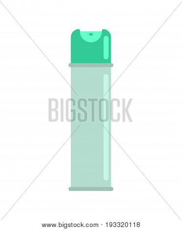 Air Freshener Isolated. Aerosol Can On White Background
