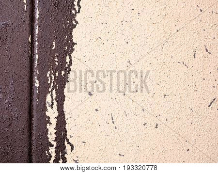 Dripping paint at an wall texture. Backgrounds for your Design.