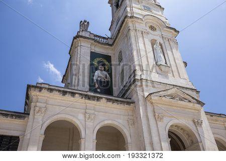 Esplanade Of Sanctuary Of Fatima, Portugal