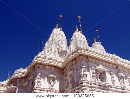 Marble Fantasy of Shri Swaminarayan Mandir in Toronto Ontario Canada