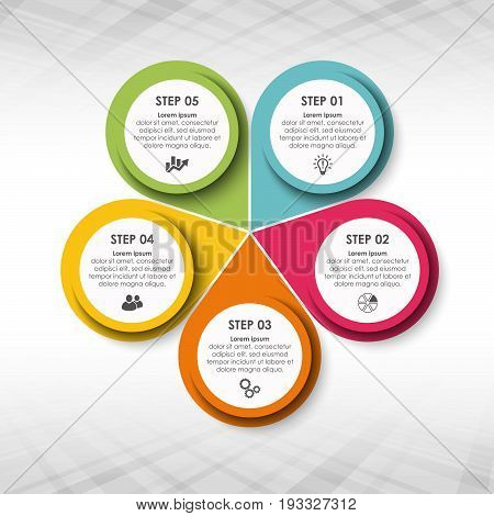 Business Info Graphic Template