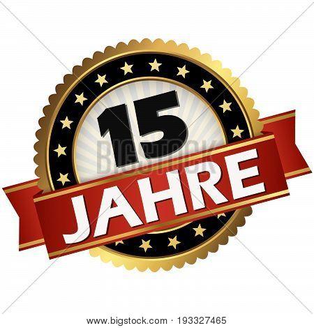 Jubilee Button 15 Years