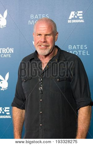 San Diego, CA - July 26, 2014:  Ron Perlman of Hellboy arrives  at A&E / Playboy event at Comic Con 2014 in San Diego, CA.