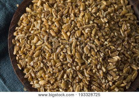 Raw Organic Brown Bulgar Wheat