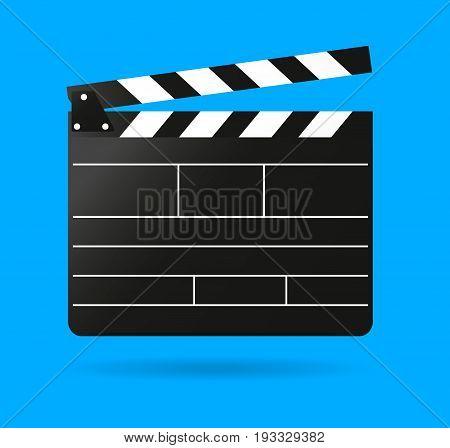 Clap movie board vector clapper  vector realistic