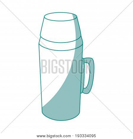 Coffee term icon over white background vector illustration