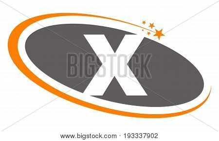 This image describe about Logo Letter X