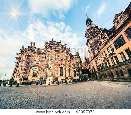 Residence Of Electors And Kings Of Saxony In Dresden