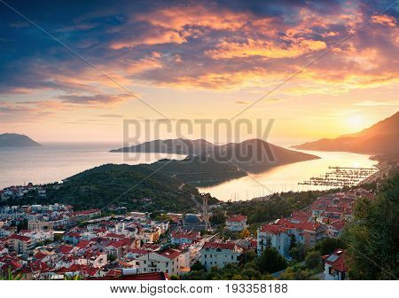 View From The Bird's Eye Of The Kas City