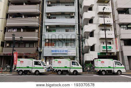 Street In Tokyo, Japan