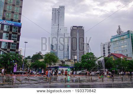 Street In Saigon, Vietnam