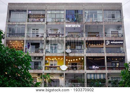 Buildings At Downtown In Saigon, Vietnam