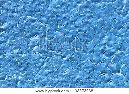 Beautiful blue background color texture old paint background abstract