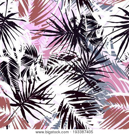 Exotic Seamless Tropical Pattern.