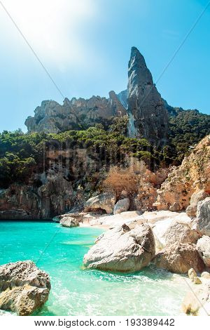 The Beautiful Cala Goloritzè In Sardinia