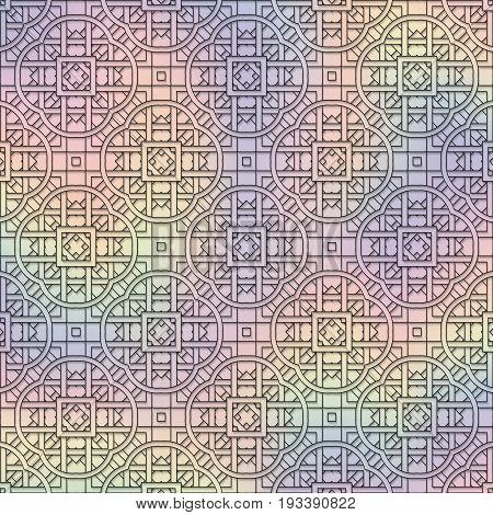 Holography background. Retro art. Multicolor wallpaper. Avant-garde backdrop. Vintage design. Abstract illustration. Hipster pattern. Futuristic ornament. Geometry print. Vector.