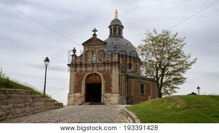 Chapel 'Onze-Lieve-Vrouw van Oudenberg' on top of the Oudenberg Geraardsbergen Flanders Belgium