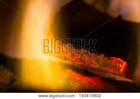 Glowing Red Embers