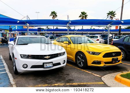 Chevrolet Camaro And Ford Mustang