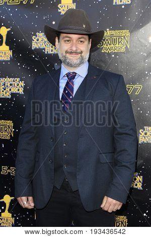BURBANK - JUN 28: Dave Filoni at the 43rd Annual Saturn Awards at The Castaway on June 28, 2017 in Burbank, California