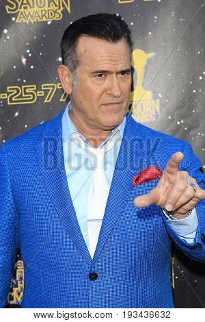 BURBANK - JUN 28: Bruce Campbell at the 43rd Annual Saturn Awards at The Castaway on June 28, 2017 in Burbank, California