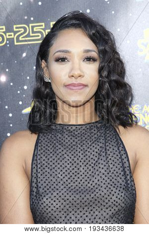 BURBANK - JUN 28: Candice Patton at the 43rd Annual Saturn Awards at The Castaway on June 28, 2017 in Burbank, California