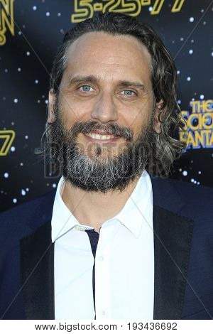BURBANK - JUN 28: Fede Alvarez at the 43rd Annual Saturn Awards at The Castaway on June 28, 2017 in Burbank, California
