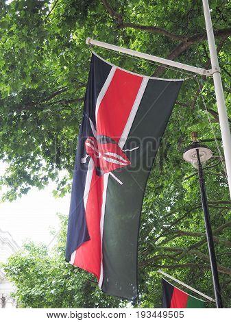 Kenyan Flag Of Kenya